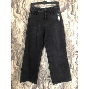 wild fable Jeans - NEW WILD FABLE HIGH RISE SKATER RAW WIDE LEG JEANS